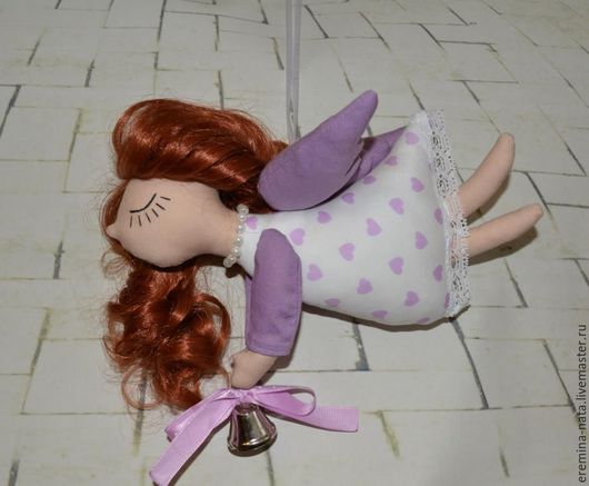 Коллекционные куклы ручной работы. Ярмарка Мастеров - ручная работа. Купить Ангел. Handmade. Комбинированный, хлопок