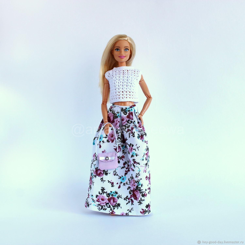 Одежда для Барби. Чайная роза 3, Одежда для кукол, Орел,  Фото №1