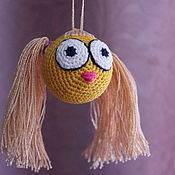 Куклы и игрушки ручной работы. Ярмарка Мастеров - ручная работа смайлики веселые. Handmade.