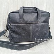 Сумки и аксессуары handmade. Livemaster - original item sports bag: BAG OF GENUINE LEATHER. Handmade.