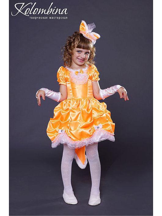 Детские карнавальные костюмы ручной работы. Ярмарка Мастеров - ручная работа. Купить карнавальный костюм лисички, лисы. Handmade. Рыжий
