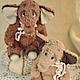 Мишки Тедди ручной работы. слоняшки-двойняшки Эл и Фант. MISHki-ot-ISHki. Ярмарка Мастеров. Тедди