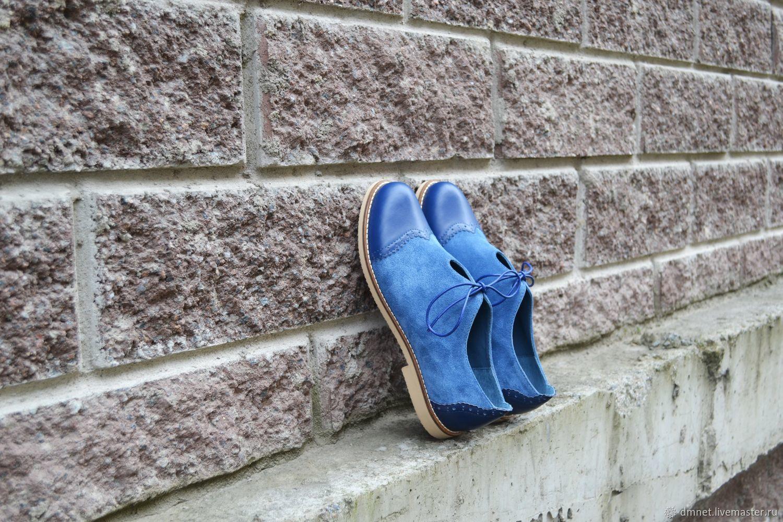 Туфли женские комбинированные, Туфли, Санкт-Петербург,  Фото №1