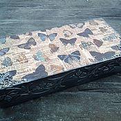 Подарки к праздникам ручной работы. Ярмарка Мастеров - ручная работа Шкатулка для денег. Handmade.