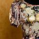 """Платья ручной работы. Ярмарка Мастеров - ручная работа. Купить Платье """"Чайная Роза"""". Handmade. Бежевый, платье, стиляги"""