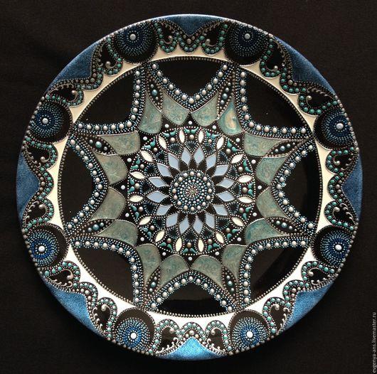 Декоративная посуда ручной работы. Ярмарка Мастеров - ручная работа. Купить Тарелка декоративная. Handmade. Подарок на любой случай