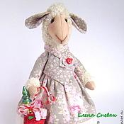 """Куклы и игрушки ручной работы. Ярмарка Мастеров - ручная работа Овечка """"Счастье"""". Handmade."""