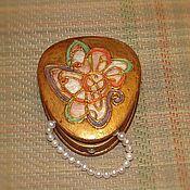 Для дома и интерьера handmade. Livemaster - original item Casket Snuffbox Ruth St. Denis. Handmade.
