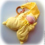 Куклы и игрушки ручной работы. Ярмарка Мастеров - ручная работа Большая желтая бабочка для маленькой детки. Handmade.