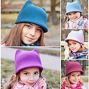 Аксессуары handmade. Livemaster - original item Zhokeyka with ears children`s