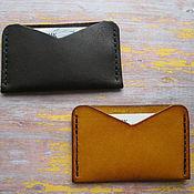Сумки и аксессуары handmade. Livemaster - original item Cardholders leather. Handmade.