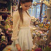 """Одежда ручной работы. Ярмарка Мастеров - ручная работа Блузка """"Teya"""". Handmade."""