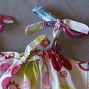 Работы для детей, ручной работы. Ярмарка Мастеров - ручная работа Сарафан для девочки Цветочек платье летнее. Handmade.