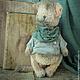 Мишки Тедди ручной работы. Бродяжка. Анна Ананьева - Волшебный магазин. Ярмарка Мастеров. Интерьер, котик, тедди в подарок