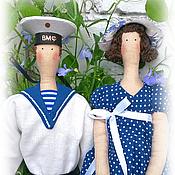 """Куклы и игрушки ручной работы. Ярмарка Мастеров - ручная работа Портретные куклы """"Идеальная пара"""". Handmade."""