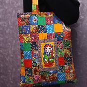 Русский стиль handmade. Livemaster - original item Bag patchwork Dolls, patchwork. Handmade.