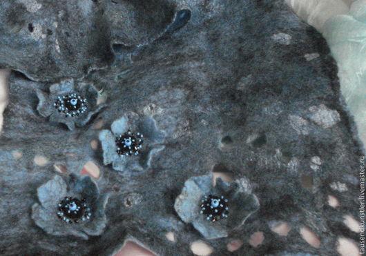 Шарфы и шарфики ручной работы. Ярмарка Мастеров - ручная работа. Купить Шарф-палантин + рукавички. Продан.. Handmade.