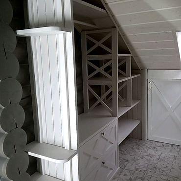 Мебель ручной работы. Ярмарка Мастеров - ручная работа Деревянная гардеробная под ваш размер эскиз. Handmade.