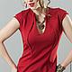 Платья ручной работы. Платье Fiore red. Strygina (Strygina). Интернет-магазин Ярмарка Мастеров. Платье, офисная одежда, пошив