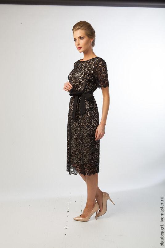 8ff4410ab01 Платья ручной работы. Ярмарка Мастеров - ручная работа. Купить Платье 1048  из итальянского кружевного ...