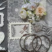Материалы для творчества ручной работы. Ярмарка Мастеров - ручная работа Набор материалов для фотоальбома. Handmade.