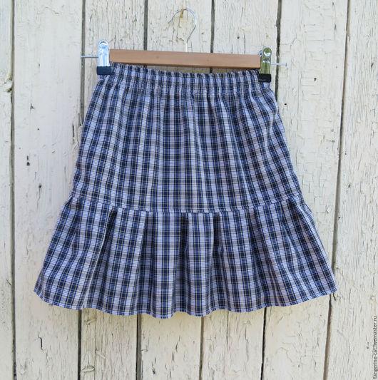 Одежда для девочек, ручной работы. Ярмарка Мастеров - ручная работа. Купить Детская юбка (в наличии 122-140). Handmade.