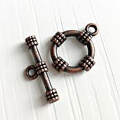 Материалы для творчества handmade. Livemaster - original item The lock toggle on copper (Ref. 2713). Handmade.