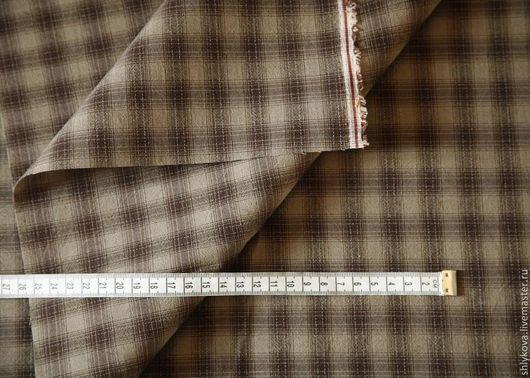 Шитье ручной работы. Ярмарка Мастеров - ручная работа. Купить Японский фактурный хлопок.. Handmade. Коричневый, ткань, ткани