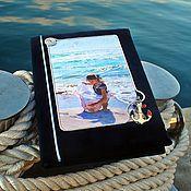 Канцелярские товары ручной работы. Ярмарка Мастеров - ручная работа Фотоальбом в морском стиле. Handmade.