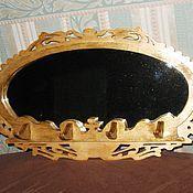 Для дома и интерьера ручной работы. Ярмарка Мастеров - ручная работа Ключница с зеркалом. Handmade.