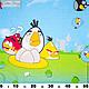 Шитье ручной работы. Ярмарка Мастеров - ручная работа. Купить Ткань хлопок Angry Birds. Handmade. Белый, детская