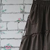 Одежда handmade. Livemaster - original item Skirt style boho with pockets