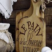 """Для дома и интерьера ручной работы. Ярмарка Мастеров - ручная работа Доски для хлеба """"Прованс"""" Набор разделочных досок. Handmade."""