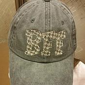 Одежда ручной работы. Ярмарка Мастеров - ручная работа бейсболка BFF (best friends forever). Handmade.