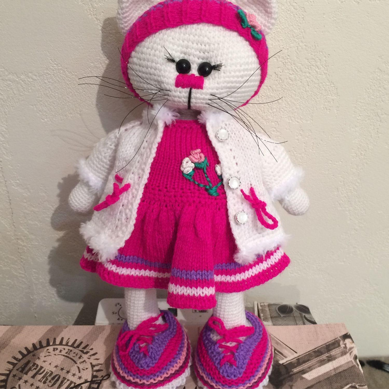 Игрушка кошечка, Куклы Тильда, Хабаровск,  Фото №1
