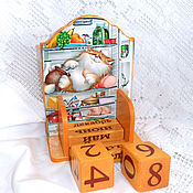 Канцелярские товары handmade. Livemaster - original item Perpetual calendar the Lord of the fridge. Handmade.