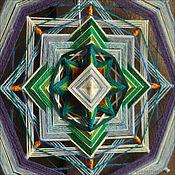 """Картины и панно ручной работы. Ярмарка Мастеров - ручная работа Индейская мандала """"Хранительница перемен"""". Handmade."""