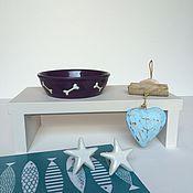 Для домашних животных, ручной работы. Ярмарка Мастеров - ручная работа Подставки под миску. Handmade.