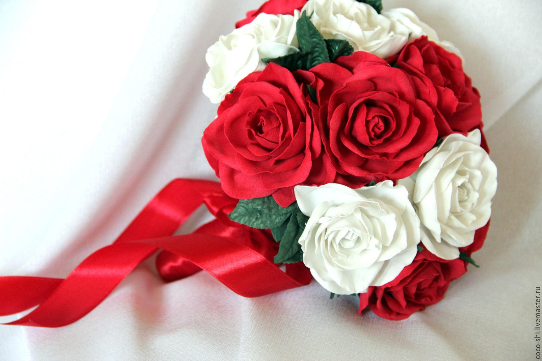 Свадебный букет из фоамирана, Свадебные букеты, Шушенское, Фото №1