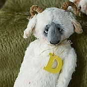 Куклы и игрушки ручной работы. Ярмарка Мастеров - ручная работа Барашек карманный. Баран, овца, коза 2015. Handmade.