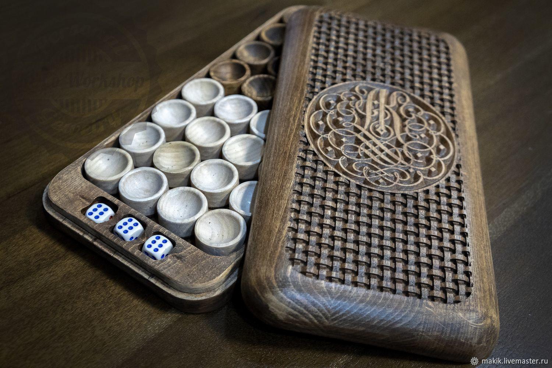Футляр, коробка под фишки и зарики, Именные сувениры, Новосибирск,  Фото №1