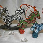 Куклы и игрушки ручной работы. Ярмарка Мастеров - ручная работа Игрушка Лошадка деревянная. Handmade.
