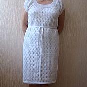 Одежда ручной работы. Ярмарка Мастеров - ручная работа Женское летнее платье, 100 % хлопок. Handmade.