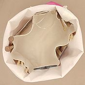 Органайзеры ручной работы. Ярмарка Мастеров - ручная работа Сумка для вязания с внутренними карманами и двумя ручками Project bag. Handmade.