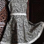 Платье ручной работы. Ярмарка Мастеров - ручная работа Платье для девочки. АФРИКА. Handmade.