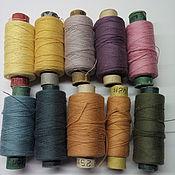 Материалы для творчества handmade. Livemaster - original item Vintage cotton thread. Handmade.