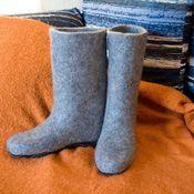 """Обувь ручной работы handmade. Livemaster - original item Валенки ручной работы """"Просто валенки"""". Handmade."""