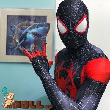 Дизайн и реклама ручной работы. Ярмарка Мастеров - ручная работа Человек паук чёрный. Handmade.