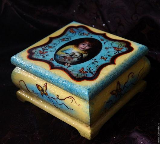 Персональные подарки ручной работы. Ярмарка Мастеров - ручная работа. Купить Музыкальная шкатулка с Вашими мелодией и фото. Handmade.