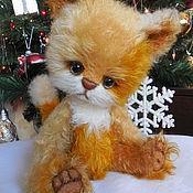 Куклы и игрушки ручной работы. Ярмарка Мастеров - ручная работа Тедди игрушка Кошечка. Handmade.